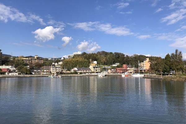 滋賀県雄琴港