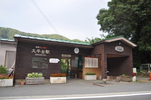 箱根登山電車大平台駅