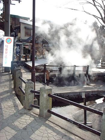 野沢温泉の麻釜